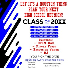 It's A Houston Thing High School Reunions logo
