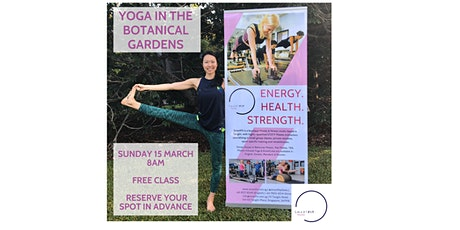 Yoga In The Botanical Gardens with SmartFit tickets