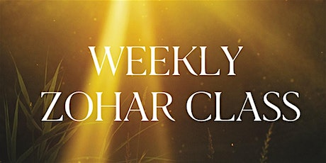 Zohar Class with Yosef Farnoosh tickets