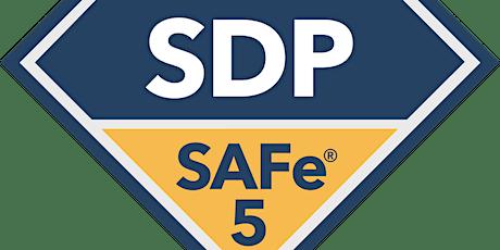 Online SAFe® 5.0 DevOps Practitioner with SDP Certification Tampa–St. Petersburg, FL(weekend)  tickets