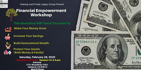 Financial Empowerment Workshop tickets