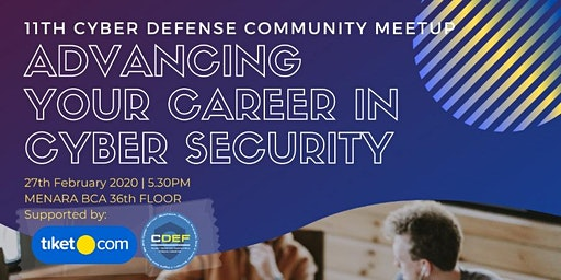 11th Cyber Defense Indonesia Community Meetup