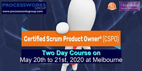 Certified Scrum Product Owner® (CSPO) [2 Days Certification Course] on 20-21 May 2020 tickets
