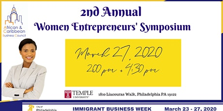 2nd Annual ACBC Women Entrepreneurs' Symposium tickets