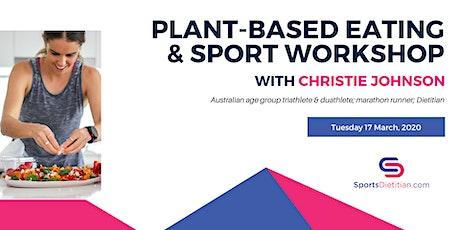 Plant-based eating & sport workshop + online program tickets
