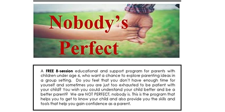 Nobody's Perfect - Parenting Program tickets