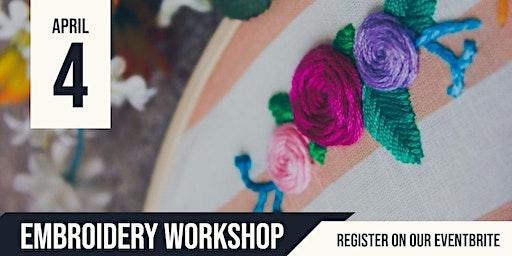 Cooinda | Embroidery Workshop