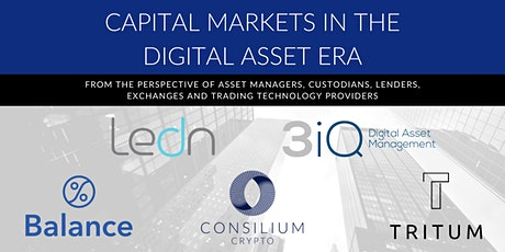 Capital Markets in the Digital Asset Era tickets