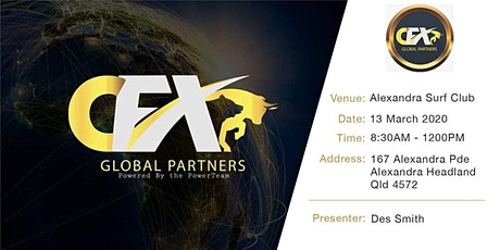 CFX Introduction And Info Morning.   tickets
