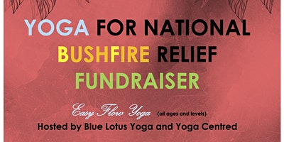 Yoga for National Bushfire Relief Fundraiser