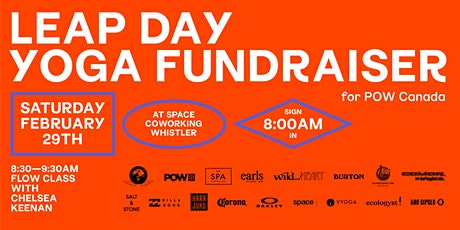 Leap Day Yoga Fundraiser for POW Canada tickets