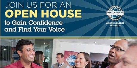 OPEN HOUSE - Declarations Toastmasters tickets