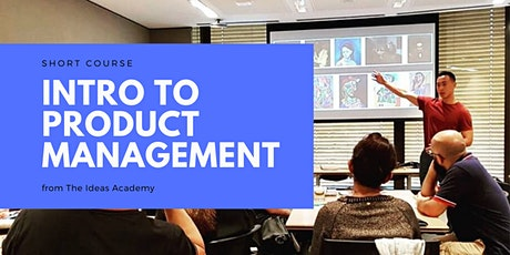 Introduction to Product Management Course tickets