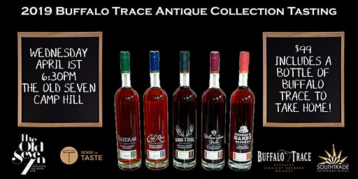 Buffalo Trace Antique Collection Tasting !