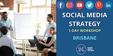 Social Media Strategy - Define | Design | Deliver - BRISBANE tickets