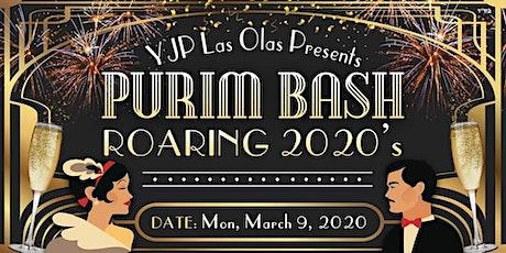 YJP Roaring 20's Purim Bash tickets