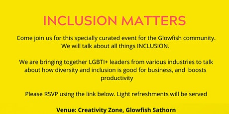 Inclusion Matters tickets