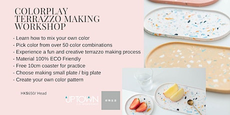 Colorplay Terrazzo Making Workshop tickets