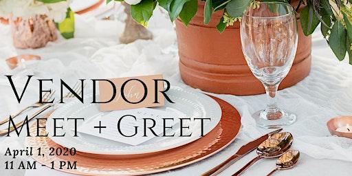 Vendor Meet + Greet