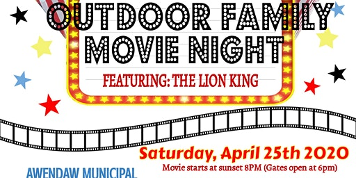 Outdoor Family Movie Night