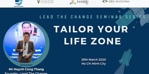 Seminar Series: TAILOR YOUR LIFE ZONE