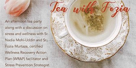 Tea with Fozia tickets