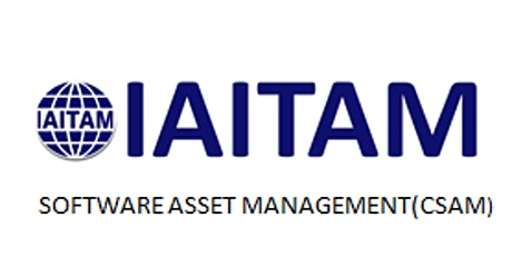 IAITAM Software Asset Management (CSAM) 2 Days Training in San Mateo, CA tickets