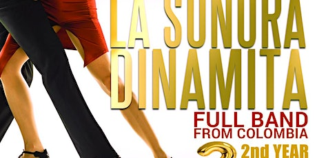 La Sonora Dinamita full band from Colombia. 2nd Year Spring Edition May 16 tickets