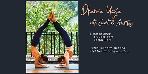 Dharma Yoga with Janet & Marthese