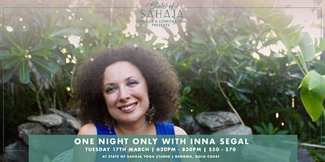 The Secret language of your body with Inna Segal tickets