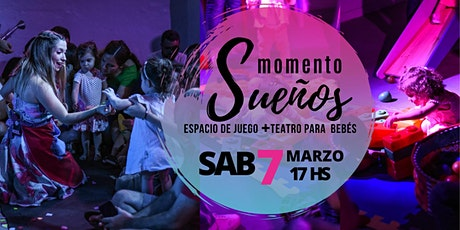 Momento Sueños: Espacio de Juego +  Teatro para BEBÉS entradas