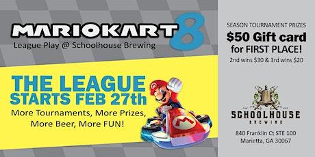 Schoolhouse Brewing Mario Kart League Spring 2020 tickets