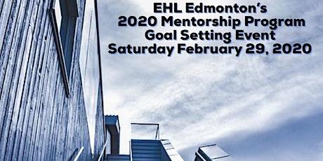EHL Mentorship Goal Setting 2020 tickets