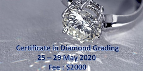 Certificate in Diamond Grading tickets