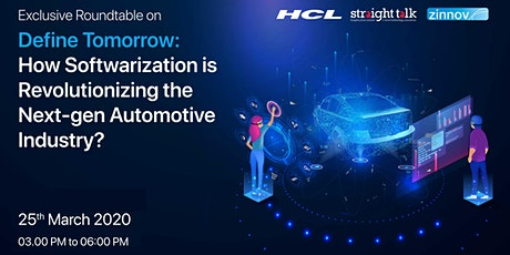 How Softwarization is Revolutionizing the Next-gen Automotive Industry? tickets