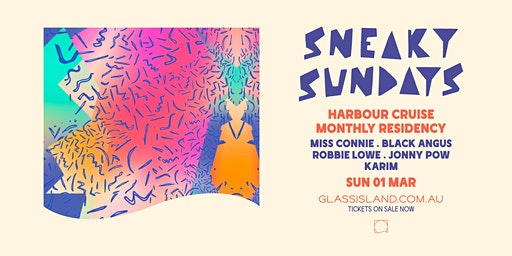 Glass Island - Sneaky Sundays Monthly Residency