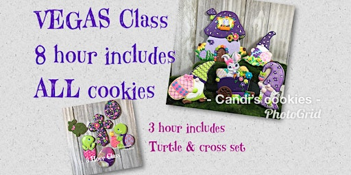 """""""Rollin' with My Gnomies"""" Easter Cookie Decorating Class in Las Vegas"""