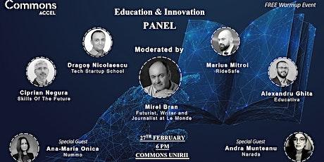 Education & Innovation Warmup tickets