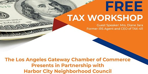 Dont Leave Money on the Table. Free Tax Workshop!