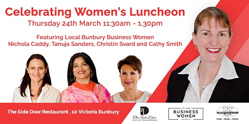 Bunbury, Business Women Australia: Celebrating Women Lunch
