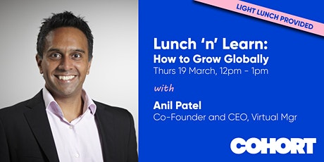 Lunch 'n' Learn - How to Grow Globally entradas