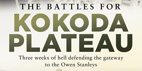 Book Launch of The Battles for The Kokoda Plateau by David Cameron tickets