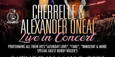 Cherrelle& Alexander Oneal Live in Concert