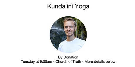 Kundalini Yoga with Tanner Cartier tickets