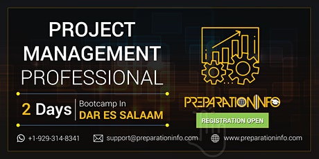 PMP Classroom Training and Certification Program in Dar Es Salaam tickets