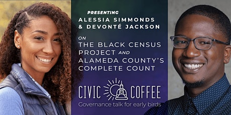 Civic Coffee: Alessia Simmons and  Devonté  Jackson on The Census tickets