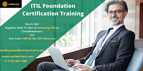ITIL Foundation 2 Days Certification Training in London,England,UK tickets