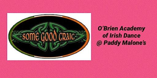 O'Brien Academy Irish Night