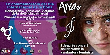 Dones Trans*, sense cos, víctimes de la violència patriarcal entradas