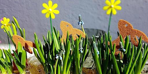 Workshop: Stilvolle Deko - Frühlingsblumen filzen! - Garten Salzburg